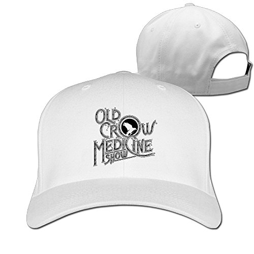 thna-stream-the-new-old-crow-medicine-show-album-carry-adjustable-fashion-baseball-hat-white