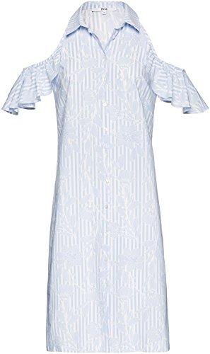 FIND Women's Shoulder Ruffle Dress
