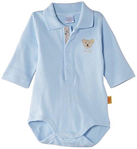 Steiff Unisex - Baby Body 0008713, Gr. 62, Blau (marine 3032)