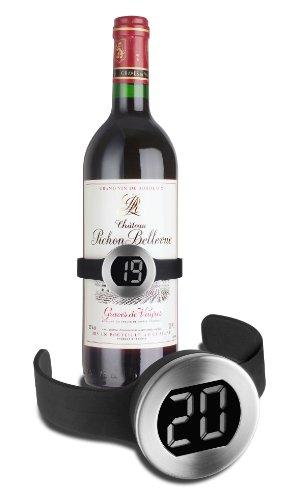TFA 14.2008 Termómetro Digital de vinos, Plateado