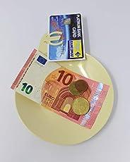 Piattino rendiresto igienico per bar e ristoranti (6 pezzi) ideale per gestire carte di credito e contanti in