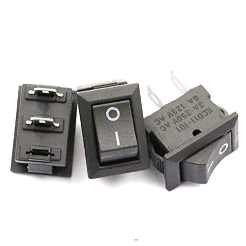ZRK Rocker Kcd-102 Small Instrumentation Rocker Power Switch Second Gear Two Feet (5) Kcd-102 1 Piece = 5 Small Instrument -