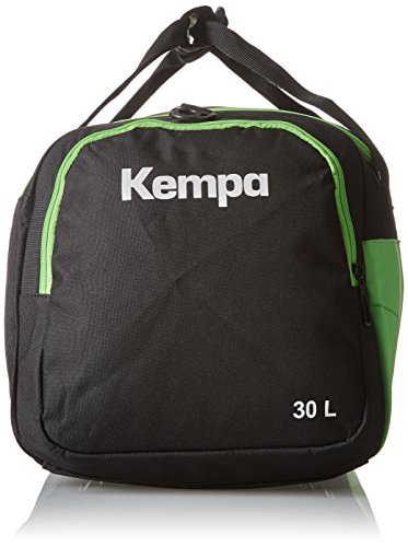 Kempa Teamline Sporttasche Schwarz/Fluo Grün