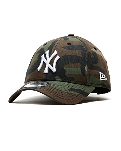New Era MLB League Essential 9 Forty Cap - NY Yankees, Uomo, NY Yankees Camo, Taglia unica