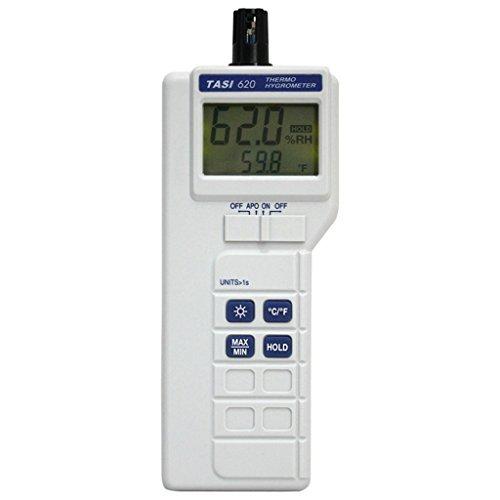TASI Thermo-hygromètre Numérique -20°C / +60°C, 0% ~ 100% RH