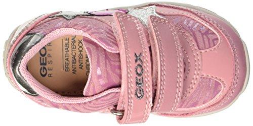 Geox Baby Mädchen B Shaax A Lauflernschuhe Pink (Dk PINKC8006)