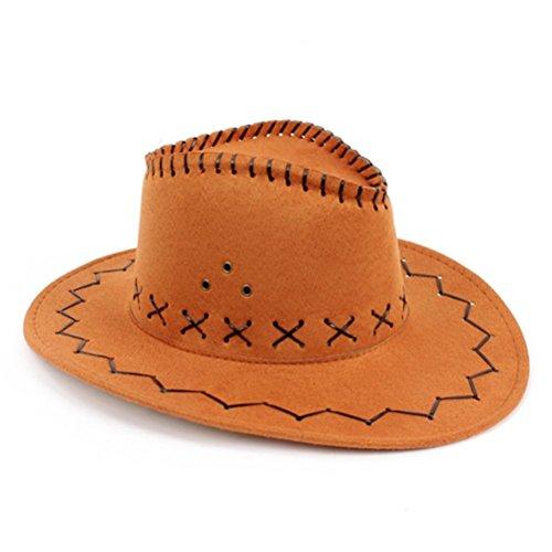 Kostüm Gunman Western - nykkola nykkola Western Unisex Sun Visier Knight Hat Kostüm Cowboy Hat