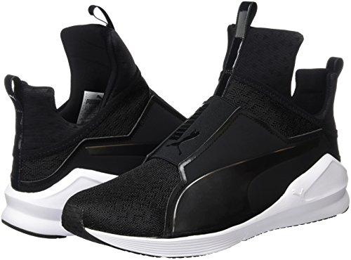Puma Fierce Eng Mesh, Sneaker Woman (Fitness &), Nero/Bianco, 7 EU
