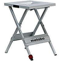 Metabo Maschinenständer UMS / 83 cm hoch, einklappbar & verstellbares 4. Bein für eine optimale Arbeitshöhe / Auflagefläche von 57x60 cm