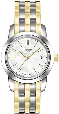 Tissot - CLASSIC DREAM DAU T0332102211100 de cuarzo, correa de acero inoxidable color varios colores