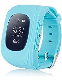 Abeillo Rastreador GPS de los niños SmartWatch Reloj inteligente para Niños Anti-Perdida Sos tarjeta