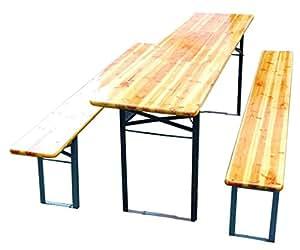 Tavoli E Panche Da Birreria Usati.Sedie Da Esterno Set Birreria Tavolo E Panche Richiudibili Cm
