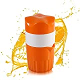 Trenta Küche Manuelle Saftpresse Fruit Lemon Lime Orange Squeezer-16,9oz/500ml Behälter-POUR Auslauf-Perfect Entsafter Tasse für Kinder