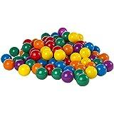 Intex - Pack de 100 bolas, multicolor, diámetro de 8 cm (49600)