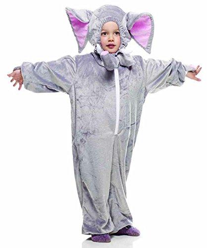631-todd–Kostüm Morbidosi: Elefant, Kinder, Größe 1–2Jahre (Todd Kostüme)