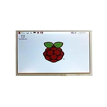 SainSmart 9 Digital LCD 1024*600 High Resolution Display Black pour Raspberry Pi
