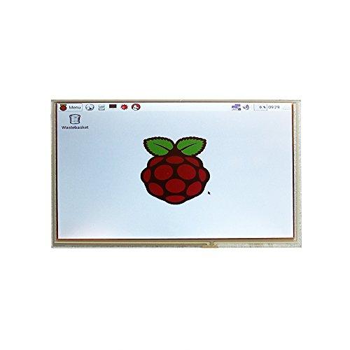41zxclJHyiL - SainSmart LCD 9 digital 1024 * 600 de alta resolución de pantalla Negro verter Raspberry Pi