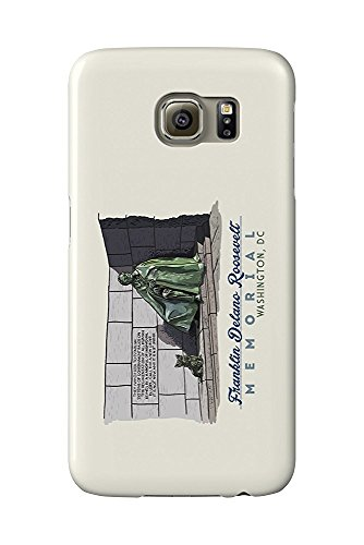 Washington, DC - FDR Memorial (Galaxy S6 Cell Phone Case, Slim Barely There) (Memorial Fdr)