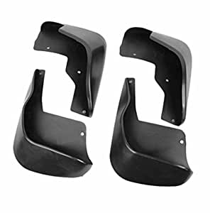 Speedwav 21692 Black Mud Flap for Chevrolet Aveo UVA (Set of 4)