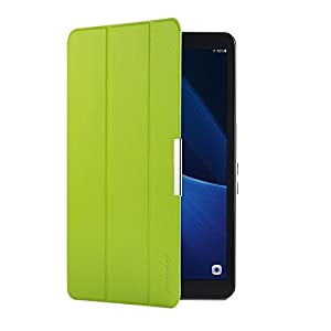 EasyAcc Samsung Galaxy Tab A 10.1 Custodia Cover, Ultra Sottile Smart Cover Case in Pelle con Sonno/Sveglia la Funzione per il Samsung Galaxy Tab A 10.1 (2016) SM-T580/T585 Tablet - Verde