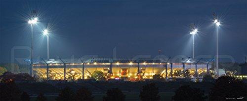 Nürnberg Stadion aussen – Poster 240 x 100 cm – hochwertiger FineArtPrint