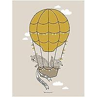 Bloomingville Poster Ballon, braun