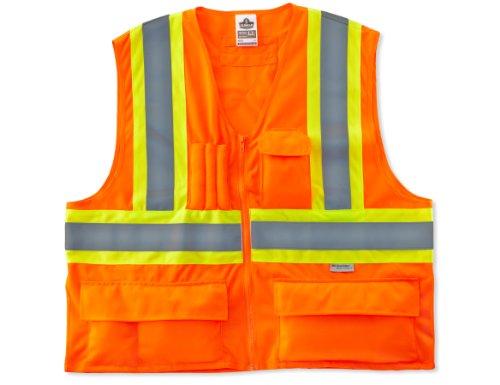 Ergodyne Glowear® class-2bicolor X-Rücken Weste, orange, 8235ZX 2 Traffic Safety Vest