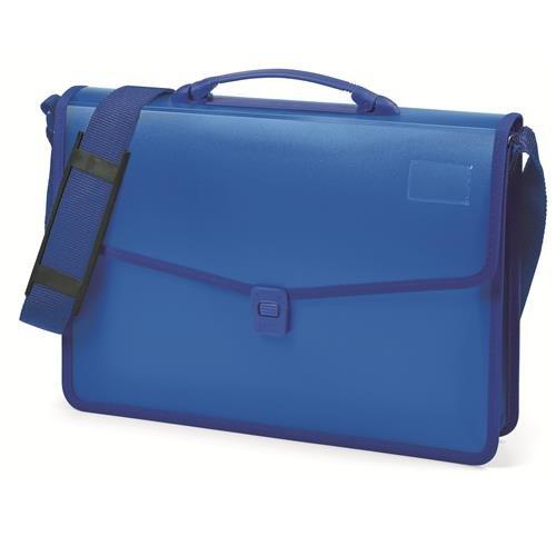 Niji 60863 Cartella, 38 cm, Blu