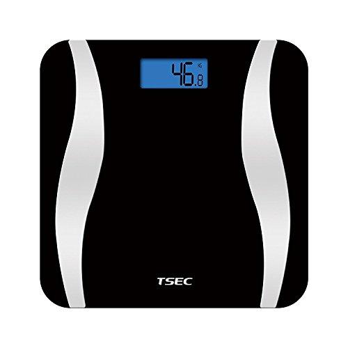 ETTG TT-538B Bluetooth Smart Body Wireless Digital-Fettwaage mit Smartphone-App zum Tracking von Gesundheit & Fitness, für iOS / Android