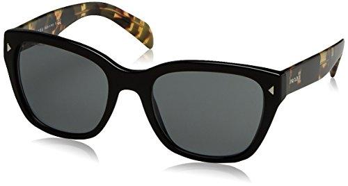 Prada Damen 0PR09SS 1AB9K1 54 Sonnenbrille, Schwarz (Black/Grey),