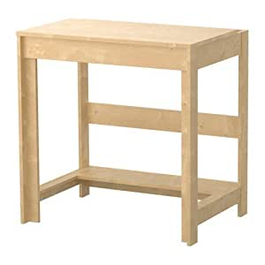 Ikea Laiva Petit bureau stable imitation bois de bouleau 70 x 50 x 72 cm