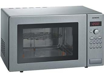 Siemens HF24G541 Comptoir 25L 900W Acier inoxydable micro-onde - micro-ondes (Comptoir, 25 L, 900 W, boutons, Acier inoxydable, 1200 W)