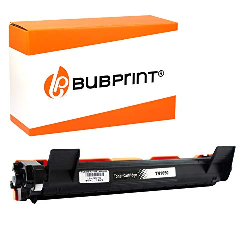 Bubprint Toner kompatibel für Brother TN 1050 TN1050 für DCP-1510 DCP 1510 1512 1610W 1612W HL-1110 HL 1110 1112 1210W 1212W MFC 1810 1910W Schwarz - Kompatibel Toner Neu-trommel