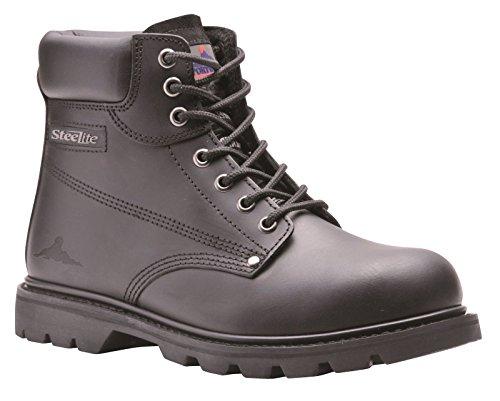 Portwest Steelite - Chaussures montantes de sécurité - Homme (45 EUR) (Noir)