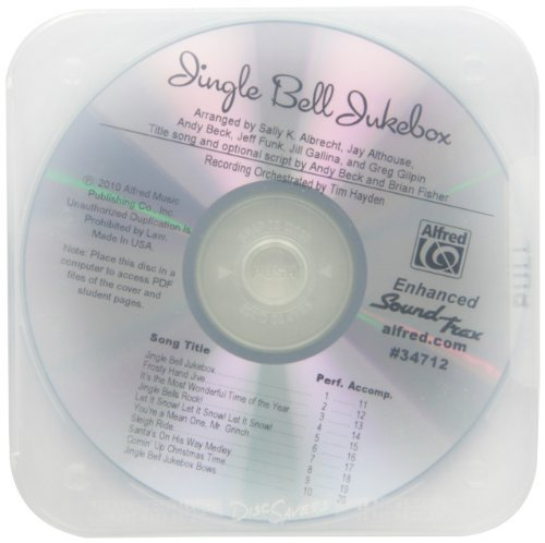 Jingle Bell Jukebox: A Presentation of Holiday Hits Arranged for 2-Part Voices (SoundTrax) (CD)