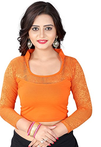 CDPL Express Stretchable Shimmer Designer Stitched Readymade Free Size Blouse For Women...