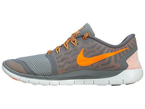 Nike Free 5.0 (Gs), Chaussures de running garçon Grey