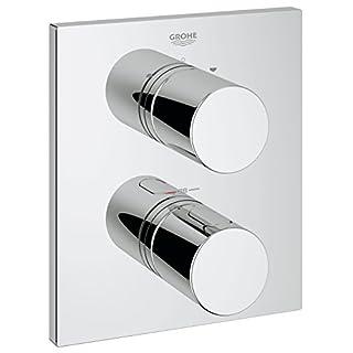 GROHE Façade pour Mitigeur Thermostatique Encastré Bain/Douche Grohtherm 3000 19567000 (Import Allemagne)
