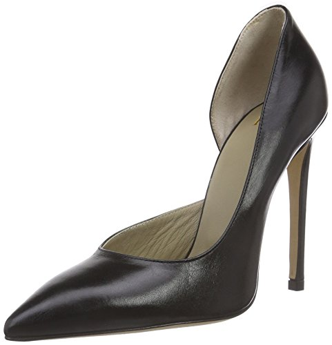 Noe Antwerp Nusica Pump, Chaussures à talons - Avant du pieds couvert femme Noir - Noir