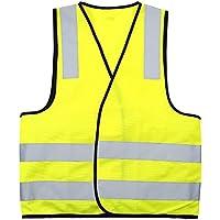Safety-site-Gilet ad alta visibilità Hi Viz-Giubbino catarifrangente di sicurezza