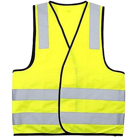 Safety-site-Gilet ad alta visibilità Hi Viz-Giubbino catarifrangente di