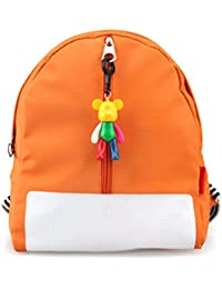 Tinksky Kindergarten Backpack Kids School Bag For Boys Girls (Orange)