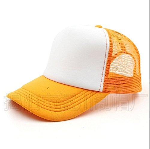 Junsi Summer Trucker Mesh Foam Baseball Cap Casquette Adjustable Snap back Hat Chapeau