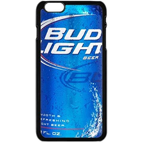 Bud Light Custom Durable Tpu Rubber caso caseCover For Iphone6S By Cell-Plus caso