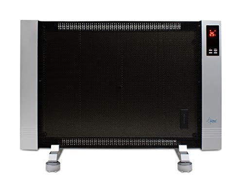 SUNTEC Infrarot-Wärmewelle Heat Wave Style 2000 LCD [Für Räume bis 45 m³ (~19 m²), Wellness-Wärme + gutes Raumklima, 2 Heizstufen, Timer, 2000 Watt]