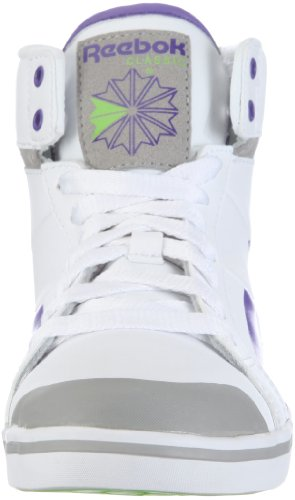 Reebok REE FUNK NC V51543, Sneaker donna Bianco (Weiss/WHITE/ACTION PURPLE/TIN GREY/SUSHI GREEN)