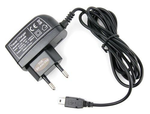 DURAGADGET Chargeur secteur pratique pour GPS TomTom GO LIVE 1000, ONE, ONE XL-S, XL 340S, XL 2 IQ, XXL IQ - mini USB