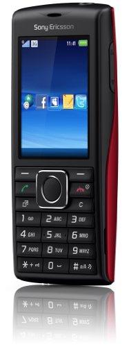 Sony Ericsson Cedar Handy (UMTS, HSDPA, 2MP, 3.5mm Klinkenstecker, Micro-USB Anschluss) schwarz/rot - Sony Bluetooth-modems