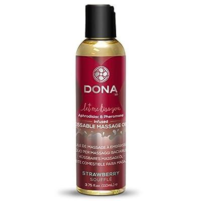 Dona by Jo 120 ml Strawberry Souffle Kissable Massage Oil by Dona by Jo
