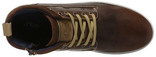 s.Oliver Herren 15238 Hohe Sneaker Braun (Cognac)